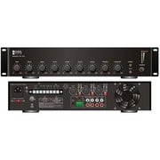 OSD Audio® PA-90 90 W Commercial Integrated Power Amplifier, Black