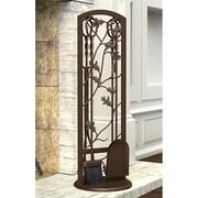 "Panacea™ 5-Piece Oak Leaf Fireplace Tool Set, 12"" x 4"" x 32"", Colonial Brown (15913)"