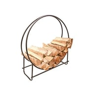 "Panacea™ Log Rack, 40"" x 36 1/2"" x 43"", Black (15209)"