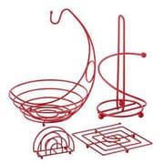 Ragalta™ PureLife™ 4.91 cu. ft. 4-Piece Useful Kitchen Set, Red (RCKS-101)