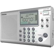 Sangean ATS-405 FM-Stereo/AM/SW World Receiver, Silver