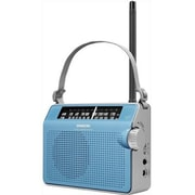 Sangean PR-D6 FM/AM Compact Analog Tuning Portable Receiver, Blue