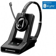 Sennheiser SD Pro2 Single Sided Headband DECT 6.0 Office Headset with Mic, Black