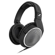 Sennheiser HD 471G Stereo Over-the-Head Headphones with Mic, Black/Silver