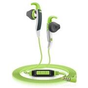 Sennheiser MX 686G Sports In-Ear Earphones with Mic, Green