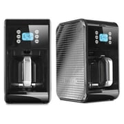 BELLA® 14286 Dots Collection 2.0 12 Cup Programmable Coffee Maker, Black