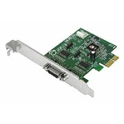 SIIG® DP CyberSerial 2-Port PCIe Serial Adapter (JJE20011S3)