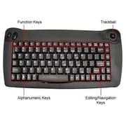 Solidtek® KB5010BU USB Mini Keyboard, Black