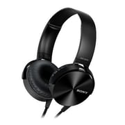 Sony MDRXB450AP/B Stereo Over-the-Head Smartphone Headphones with Mic, Black
