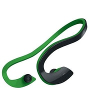Southern Telecom Sharper Image SBT518 Stereo Bluetooth Behind-the-Neck Earbud with Mic, Black/Green