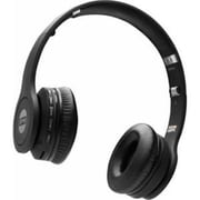 Spy Collective YA3200X The Mega Bluetooth Over-the-Head Headphones with Mic, Black