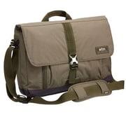 """STM Bags® Sequel Olive Poly Fabric Shoulder Bag for 13"""" - 15"""" Laptop (stm112033M15)"""