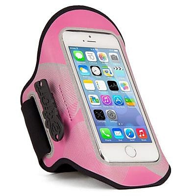 The Joy Factory aXtion Night Run Pink Armband for Smartphones (DWX105)