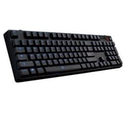 Thermaltake® Tt eSPORTS® KB-PZP-KLBLUS-01 Poseidon Z Plus Wired/Wireless Keyboard for Tablet, Black