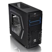 Thermaltake® Versa H23 Window Mid-Tower Computer Chassis, 8xBay, for Micro ATX/ATX Motherboard (CA-3B1-50M1WU-00)