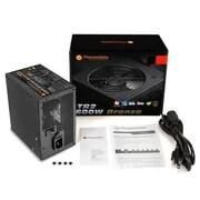 Thermaltake® TR2 Power Supply, 600 W, for Intel ATX 12V v2.3 Motherboard (PS-TR2-0600NPCB-B)