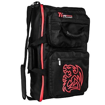 Thermaltake Battle Dragon 2015 Edition Black Polyester/Nylon Gaming Backpack (EA-TTE-BACBLK-01)