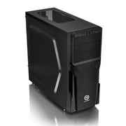 Thermaltake® Versa H21 Window Mid-Tower Computer Chassis, 6xBay, for Micro ATX/ATX Motherboard (CA-1B2-00M1NN-00)