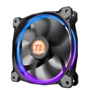 Thermaltake® Riing 14 LED RGB 256 Colors High Static Pressure Radiator Fan, 1400 RPM, 140 mm (CL-F043-PL14SW-A)