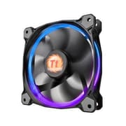 Thermaltake® Riing 12 LED RGB 256 Colors High Static Pressure Radiator Fan, 1500 RPM, 120 mm (CL-F042-PL12SW-A)