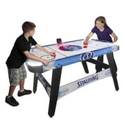 "Triumph Sports USA Spalding® ""Lumen-X"" LED Light up Air Hockey Table (SP456823)"