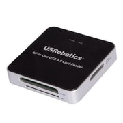 U.S. Robotics® USR8420 All-in-One USB 3.0 Flash Card Reader/Writer with Dual SD Slots
