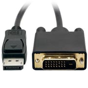 VisionTek® 900799 5.91' DisplayPort to SL DVI Male/Male Video Cable, Black