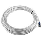 zBoost® RG-6 Coaxial Extension Cable Plus Mating Adapter, 50', White (YX03050W)