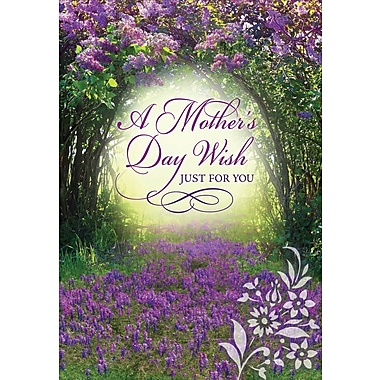 Millbrook A Mother's Day Wish Greeting Card, 18/Pack, (23579)