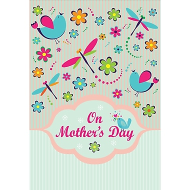 Millbrook On Mother's Day Greeting Card, 18/Pack, (23575)
