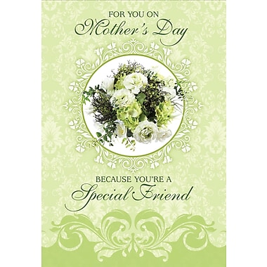 Millbrook For You, special friend on Mother's Day Greeting Card, 18/Pack, (23562)