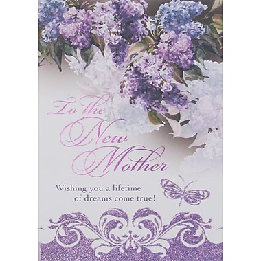 Rosedale To the New Mother Greeting Card, 12/Pack, (39910)