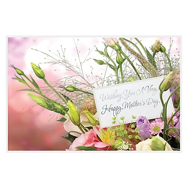 Rosedale Wishing You a Very Happy Mother's Day Greeting Card, 12/Pack, (39958)