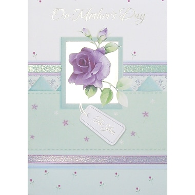 Rosedale On Mother's Day For You Greeting Card, 12/Pack, (39965)