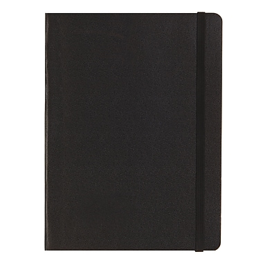Letts® Edge Notebook, Black, (LEN5ERBK)