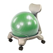 AeroMAT Low Back Kids Excercise Ball Chair; Green