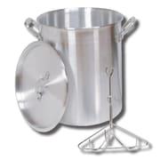 King Kooker King Kooker #30PK- 30 Qt. Aluminum Turkey Pot - Rack - Lid