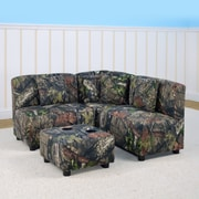 Mossy Oak Nativ Living Kids Sectional and Ottoman