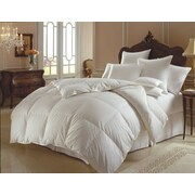ELEGANT COMFORT Down Alternative All Season Comforter; Full/Queen