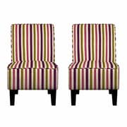 Handy Living Brodee Slipper Chair (Set of 2)