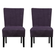Handy Living Dunley Slipper Chair (Set of 2)