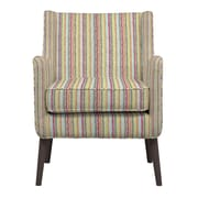 Handy Living Lilian Arm Chair; Green