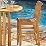 HiTeak Furniture R Bar Chair
