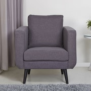 Gold Sparrow Fargo Arm Chair; Dark Gray