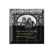 Dexsa Simple Expressions ''Dad'' Beveled Glass Picture Frame