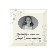 Dexsa Simple Expressions ''First Communion'' Beveled Glass Picture Frame