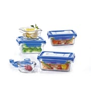 Glasslock 10-Piece Lid Container Set