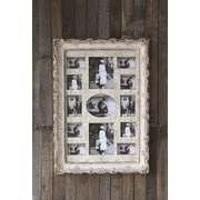 Creative Co-Op The Painted Porch MDF and Resin Multi Frame