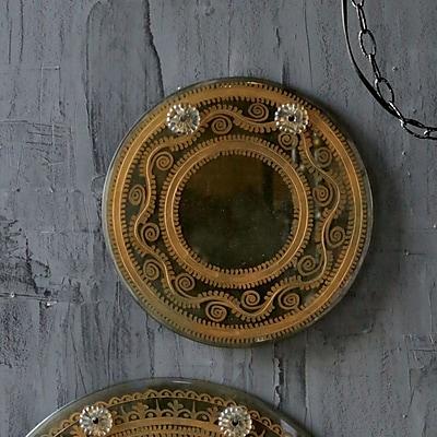 Creative Co-Op Chateau Glass Wall Mirror