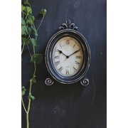 Creative Co-Op MDF Table Clock with Feet